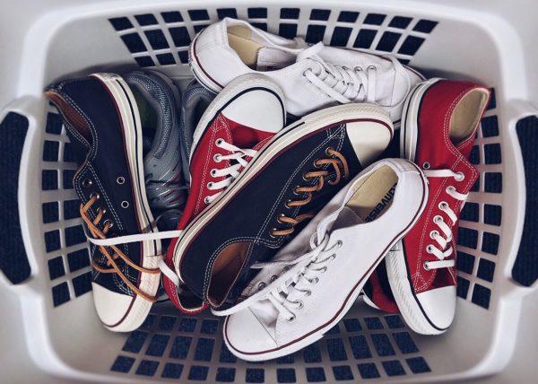 Schoenen onderhouden stoffen schoenen