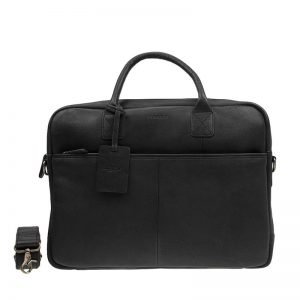 Burkely Antique Avery Laptoptas 15  Black