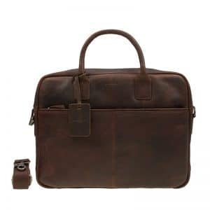 Burkely Antique Avery Laptoptas 15  Brown