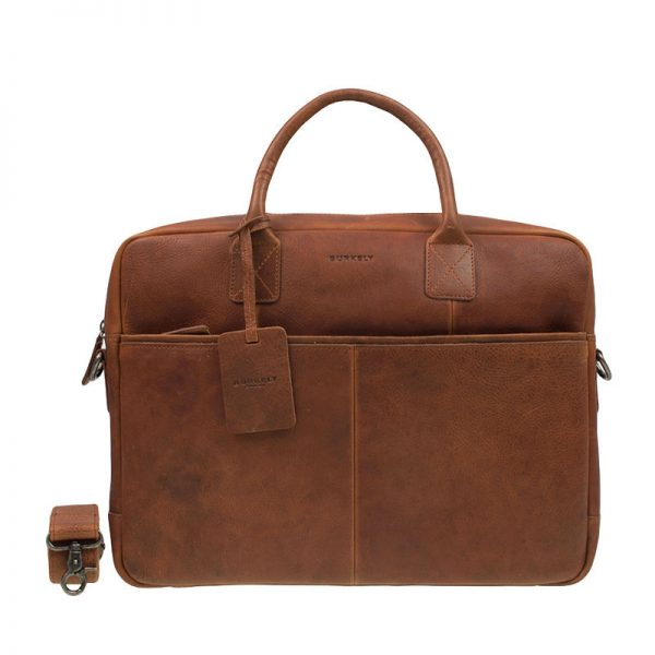 Burkely Antique Avery Laptoptas 15  Cognac