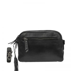 Burkely Noble Nova Crossbody 2Zip Black