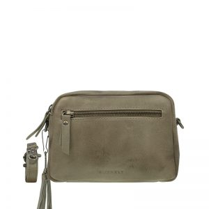 Burkely Noble Nova Crossbody 2Zip Khaki