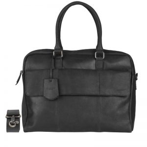 Burkely On The Move Flap Laptoptas Black