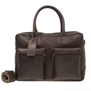 Burkely Vintage Alex Schoudertas Dark Brown