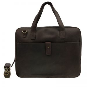 Burkely Vintage Noa Laptoptas Dark Brown