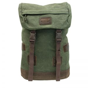 Burton Tinder Pack Forest Night Waxed Canvas