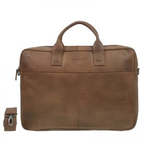 DSTRCT Fletcher Street 17'' Business Bag Cognac