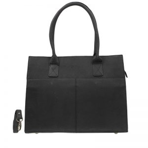 DSTRCT Fletcher Street Laptop Bag Black