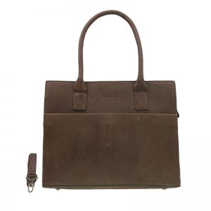 DSTRCT Fletcher Street Laptop Bag Brown