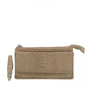 DSTRCT Portland Road Crossbody Wallet Taupe