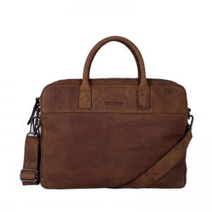 DSTRCT Wall Street 15  Laptop Bag Brown