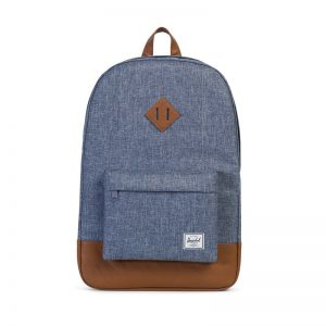 Herschel Heritage Dark Chambray Crosshatch