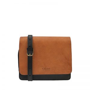 O My Bag Audrey Midi Eco Classic Black/Camel