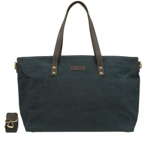 O My Bag Dante's Diaper Bag Waxed Navy