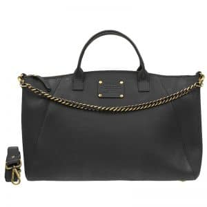 O My Bag Fly Violet Maxi Eco-Black With Chain