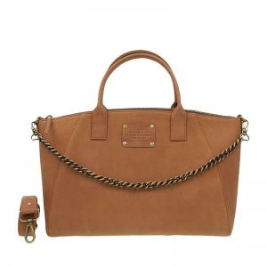 O My Bag Fly Violet Midi Camel With Chain