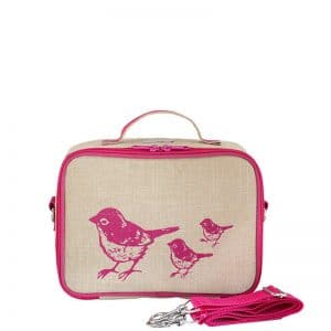 SoYoung Lunchbox Birds Pink