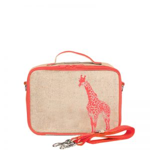 SoYoung Lunchbox Giraffe Neon Orange