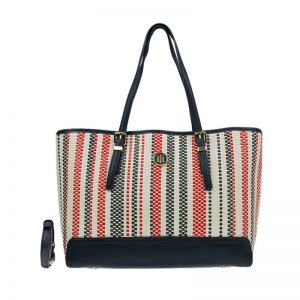 Tommy Hilfiger Honey Medium Tote Woven