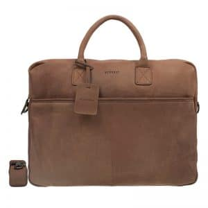 Burkely Laptop Bag 17  Cognac