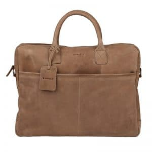 Burkely Laptop Bag 17  Taupe