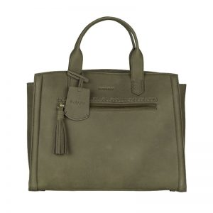 Burkely Be Beauty Handtas M Olive