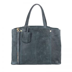 Burkely Magic Milou Handtas M Denim Blauw