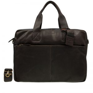 Burkely Vintage River Laptoptas Dark Brown
