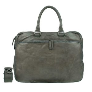 DSTRCT Pearl Street Double Zip Pocket Grey