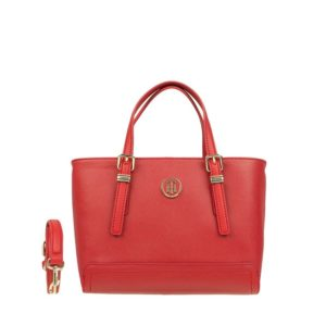 Tommy Hilfiger Honey Small Tote Tommy Red