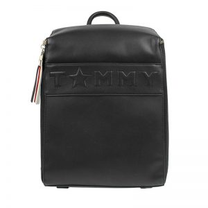 Tommy Hilfiger Logo Story Backpack Black