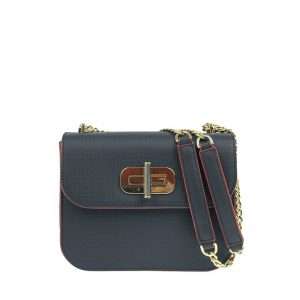Tommy Hilfiger Turn Lock Crossover Corporate Blue