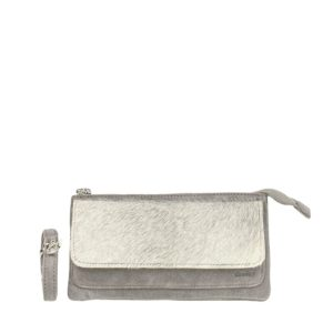 DSTRCT Hair On Crossbody Grey