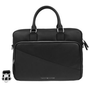 Tommy Hilfiger Diagonal Computer Bag Black
