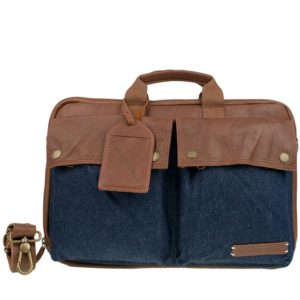 Cowboysbag Laptop Bag Conway 15 inch Cognac