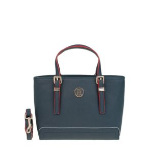 Tommy Hilfiger Honey Small Tote Tommy Details Navy