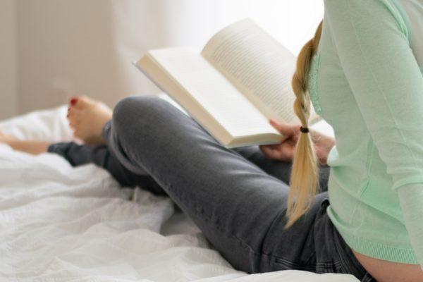 boek lezen op bed
