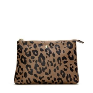 Fabienne Chapot Make up Bag Leopard