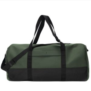 RAINS Travel Duffel Green