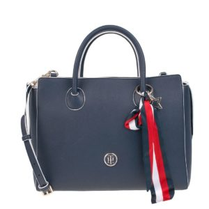Tommy Hilfiger Charming Satchel Navy