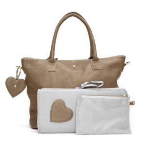 Fabienne Chapot Anjali Diaper Bag Dallas Taupe