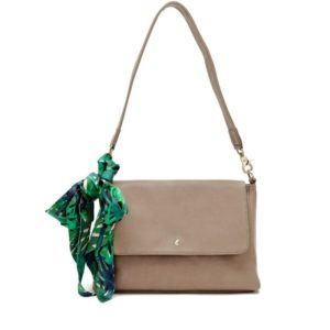 Fabienne Chapot Natalie Bag Taupe with Scarf