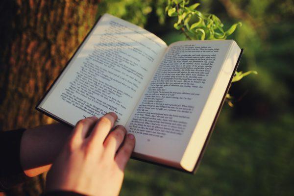 boek aan het lezen