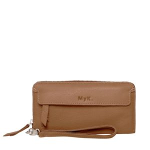 MyK. Spendit Purse Camel
