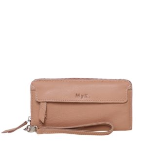 MyK. Spendit Purse Peach