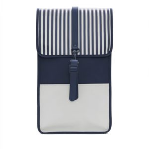 RAINS LTD Backpack Distorted Stripes