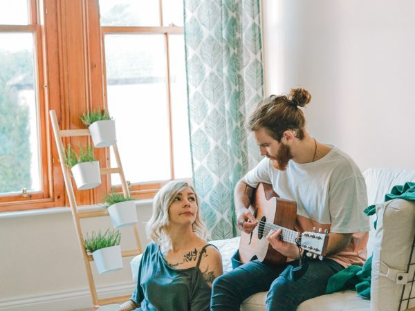 Huiskamer gezellig maken