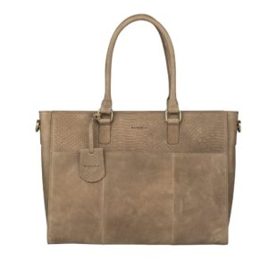 Burkely Hunt Hailey Workbag Taupe