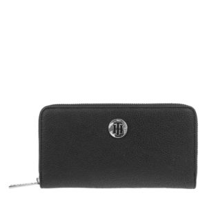 Tommy Hilfiger TH Core Large Z/A Wallet Black