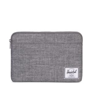 Herschel Anchor Sleeve for 13  Macbook Raven Crosshatch